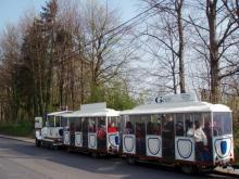 Le petit train reliant Visé et Dalhem à Blégny-Mine